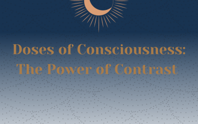 Doses of Consciousness: The Power of Contrast