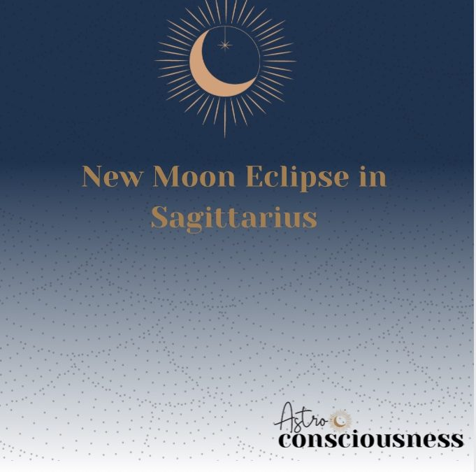 New Moon Eclipse in Sagittarius 2020