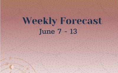 Weekly Forecast: June 7-13
