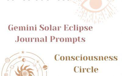 Gemini Solar Eclipse Journal Prompts