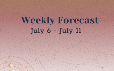 Weekly Forecast: July 6-11