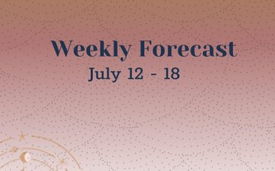 Weekly Forecast: July 12-18