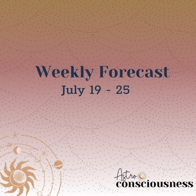 Weekly Forecast: July 19-25