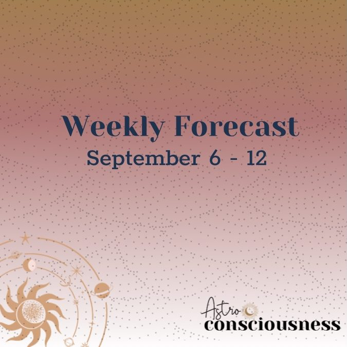 Weekly Forecast: September 6-12