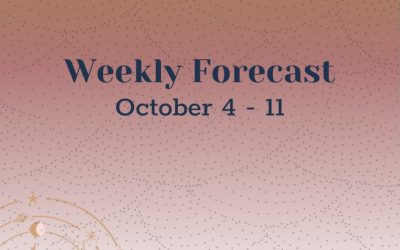 Weekly Forecast: Week of October 4-11