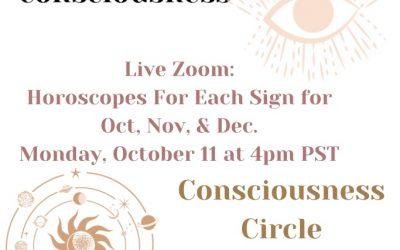 Live Zoom: Horoscopes for October, November, and December 2021
